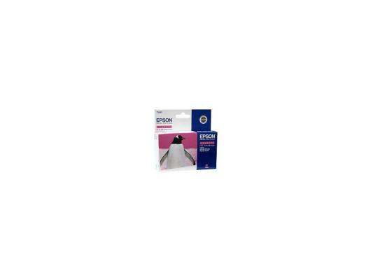 Картридж Epson Original C13T55934010 (пурпурный) для МФУ RX700, 515 стр.