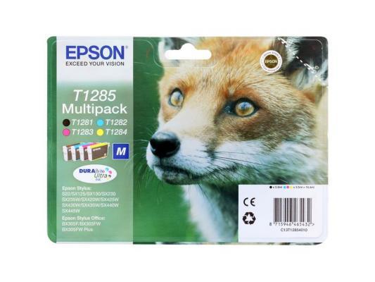 Набор картриджей Epson C13T12854010/12/20 Multipack для S22 SX125 цены