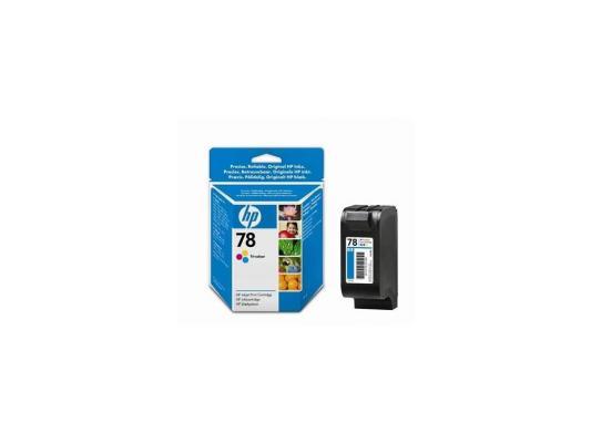 Картридж HP C6578D (№78) цветной DJ930/950/959/970/980/990/1220 картридж hp 78 многоцветный [c6578d]