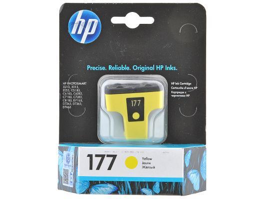 Картридж HP C8773HE (№177) желтый PSM8253 картридж hp c8771he 177 голубой psm8253