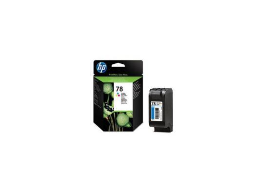 Картридж HP C6578A (№78) цветной DJ930/950/959/970/980/990/1220 hp c6578a 78 трехцветный струйный картридж