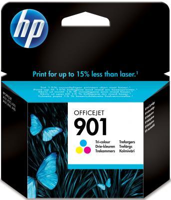 Картридж HP CC656AE (№901) цветной OJ4580 цена и фото