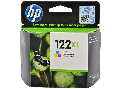 купить Картридж HP CH564HE (№122XL) цветной Deskjet 2050 повышенной емкости, 330стр недорого