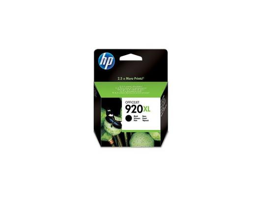 Картридж HP CD975AE (№920XL) черный OJ 6000/6500/7000 картридж струйный hp 920xl cd973ae пурпурный для hp oj 6000 6500 700стр