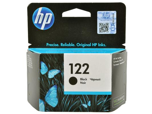Картридж HP CH561HE (№122) черный DJ 2050, 120стр for hp 122 black ink cartridge for hp 122 xl deskjet 1000 1050 2000 2050 3000 3050a 3052a printer