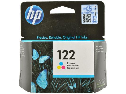 Картридж HP CH562HE (№122) цветной DJ 2050, 100стр картридж hp 122 ch562he цветной
