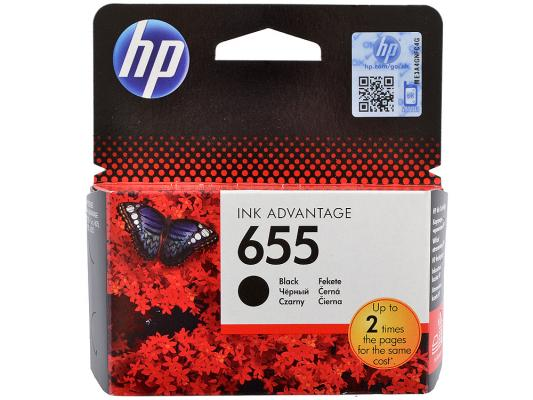 Картридж HP CZ109AE (№655) черный, DJ IA 3525/4615/4625/5525, 550стр compatible dye ink 655 685 for hp deskjet 3525 4615 4625 5525 6525 etc