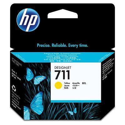Картридж HP CZ132A (№711) с желтыми чернилами 29мл картридж hp 711 с голубыми чернилами 29мл cz130a