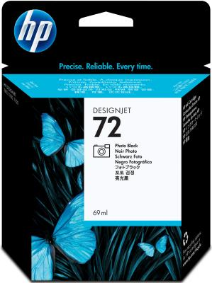 Картридж HP C9397A  (№72) Photo Black 69 ml картридж для принтера hp 72 c9403a black