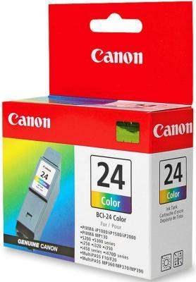 Картридж BCI-24с цветной двойной для Canon (i250, i350, i450, i470D)