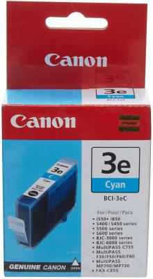 Картридж BCI-3eC голубой для Canon (i530D, i550,i850) картридж струйный lomond canon bci 3ey для canon bc 31 bc 33 s600 yellow