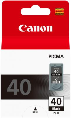 Картридж Canon PG-40 черный Pixma MP450/MP150/MP170/iP1600/iP2200/iP6210D (0615B025) картридж canon pg 40
