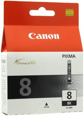 Картридж CLI-8BK черный Pixma IP4200/5200 картридж easyprint ic cli8b для canon pixma ip4200 5200 pro9000 mp500 600 черный