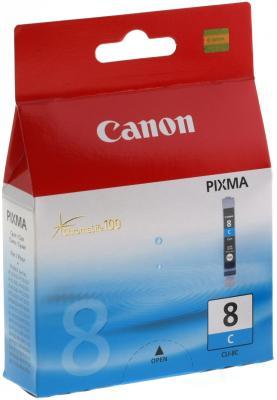 Картридж CLI-8C голубой Pixma MP800/MP500/iP6600D/iP5200/iP5200R/iP4200 набор картриджей canon cli 8c m y из 3х цветов для pixma mp800 mp500 ip6600d ip5200 ip5200r ip4200 ix5000 700 страниц