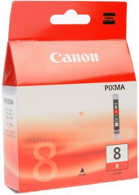 Картридж CLI-8R красная для Pixma Pro9000 чернильница canon cli 8g для pixma pro9000 зелёный 5845 страниц