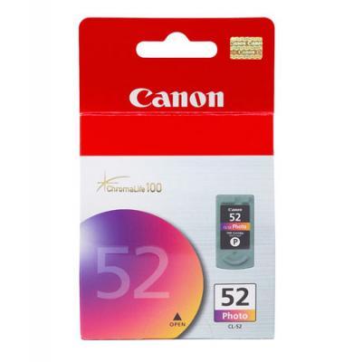 Картридж Canon CL-52 цветной для Pixma iP6220D/iP6210D кпб cl 29
