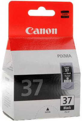 Картридж Canon PG-37 черный Pixma iP1800/iP2500 картридж canon pg 40 черный pixma mp450 mp150 mp170 ip1600 ip2200 ip6210d 0615b025