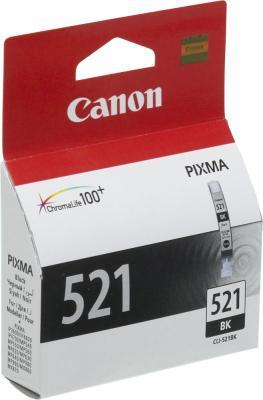 Картридж Canon CLI-521BK черный картридж для принтера colouring cg cli 426c cyan