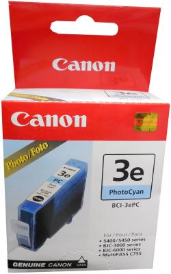 Картридж BCI-3ePC голубой для Canon (i530D, i550, i850) original print head qy6 0064 printhead compatible for canon ix4000 ix5000 ip3000 mp700 mp710 mp730 mp740 i850 printer head