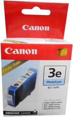Картридж BCI-3ePC голубой для Canon (i530D, i550, i850) картридж bci 3epc голубой для canon i530d i550 i850