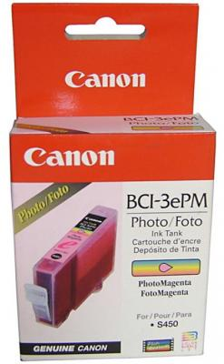 Картридж BCI-3ePM пурпурный для Canon (i530D, i550, i850) картридж bci 3epc голубой для canon i530d i550 i850