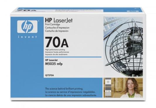 Тонер-картридж HP Q7570A (LJ M5035) черный картридж hp q7570a для lj laserjet m5025 15000стр