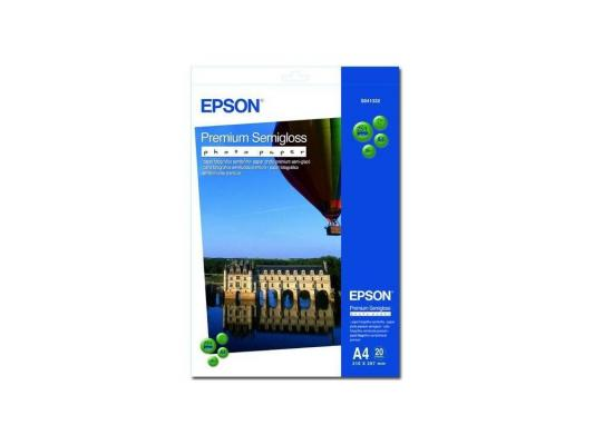 S041332 бумага Epson (A4, 20л, 251g) Premium Semiglossy Photo