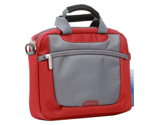 Сумка для ноутбука 10 Sumdex PON-308RD Netbook Case Red полиэстер