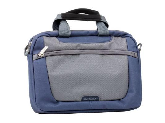 "Сумка для ноутбука 10"" Sumdex PON-308NV Netbook Case Blue полиэстер"