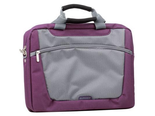 Сумка для ноутбука 16 Sumdex PON-318PL Computer Brief purple полиэстер сумка для ноутбука 16 4 sumdex pon 318rd computer brief полиэстер красный
