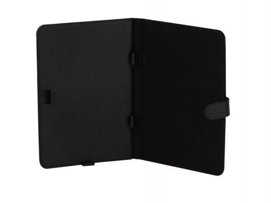 Чехол IT BAGGAGE (ITUNI10-1) для планшетов 10 искусственная кожа, черный чехол для планшета it baggage для memo pad 8 me581 черный itasme581 1 itasme581 1