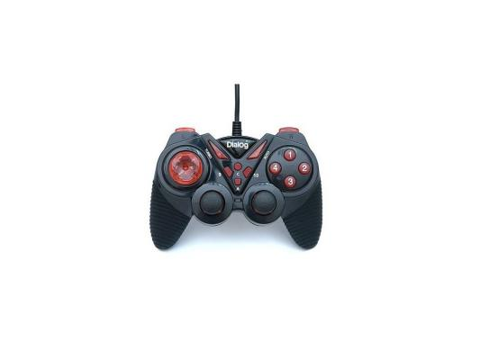 Геймпад Dialog Action GP-A13 Black-Red геймпад nintendo switch pro controller