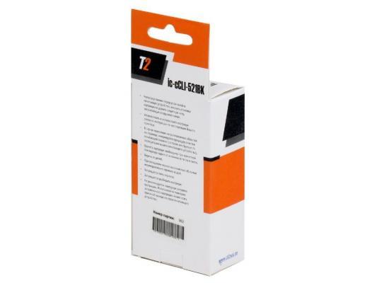 Картридж T2 для Canon IC-CCLI-521BK  MP540/620/630/980/Pixma iP4700/MX860/870, черный, с чипом