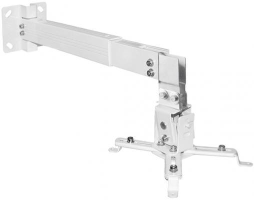 Фото - Кронштейн ARM media ProjectOR-3, для проекторов, настенно-потолочный, 3 ст. свободы, max 20 кг, 120-650 mm, белый кронштейн arm media projector 3 для проекторов настенно потолочный 3 ст свободы max 20 кг 120 650 mm черный