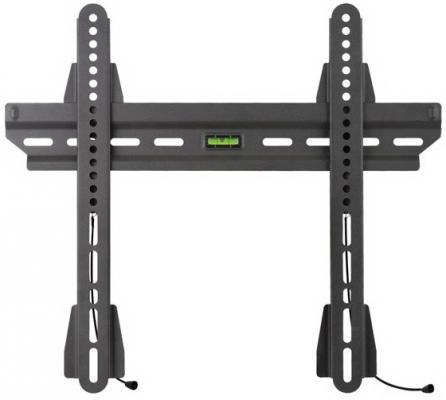 """Кронштейн Kromax Slim-S (Ультратонкий для LED/LCD телевизоров диагональ 20""""-45"""", расстояние от стены 12 мм, водяной уровень, макс. нагр. 50 кг) Grey"""