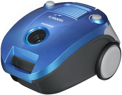Пылесос Samsung SC-4140 синий пылесос samsung sc4181