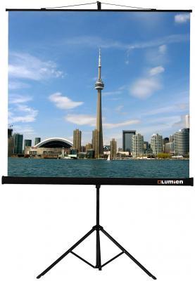 Фото - Экран на штативе Lumien Eco View 180x180 см Matte White с возможностью настенного крепления [LEV-100102] экран для проектора lumien eco picture 180x180 lep 100102