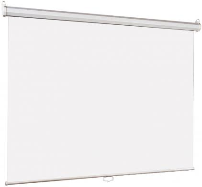 Настенный экран Lumien Eco Picture 160х160 см Matte White , восьмигранный корпус, возможность потолочн./настенного крепления [LEP-100105]