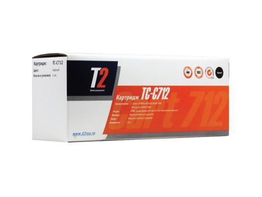 Тонер-картридж T2 для Canon TC-C712 картридж t2 для hp tc h85a laserjet p1102 1102w pro m1132 m1212nf m1214nfh canon i sensys lbp6000 cartrige 725 1600 стр с чипом