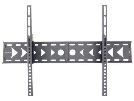 "Кронштейн Kromax Flat-2 LCD/LED и плазма тв 37""-63"", настенный, 1 ст.свободы, Vesa 600x400 мм, от стены 66 мм, max 25 кг Grey"