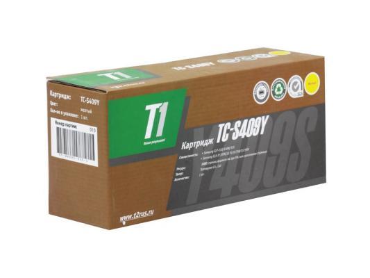 Картинка для Тонер-картридж  T2 для Samsung TC-S409Y Картридж T1 для Samsung CLP-310/310N/315/CLX-3170FN/3175/3175N/3175FN (1000 стр.) Желтый, с чипом