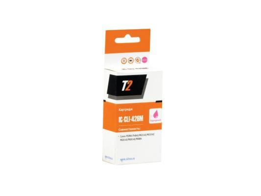 Картридж T2 для Canon IC-CLI-426M    Pixma iP4840/iP4940/MG5140/MG5240/MG5340/MG6140/MG6240/MG8140/MG8240/MX884,пурпурный, с чипом