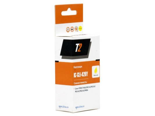 Картридж T2 для Canon IC-CLI-426Y Pixma iP4840/iP4940/MG5140/MG5240/MG5340/MG6140/MG6240/MG8140/MG8240/MX884,желтый,¶с чипом, фактически IC-CLI-42 10pcs lot cm501 qfn 48 ic free shipping