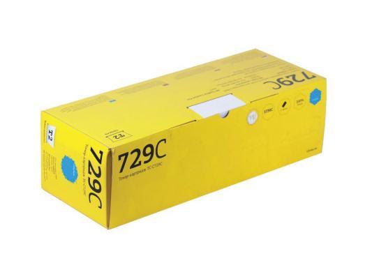 Тонер-картридж T2 для Canon TC-C729C для Canon i-Sensys LBP7010C/7018C/HP LJ Pro CP1025/1025nw/Pro 100 MFP M175A/Pro 100 M175nw (1200 стр.) Голубой картридж t2 tc c729y для canon i sensys lbp7010c 7018c hp laserjet pro cp1025 1025nw pro 100 mfp желтый