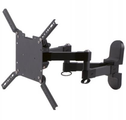 """Кронштейн Kromax Pixis-M (Наклонный, поворотный, для LED, ЖК и плазмы 26""""-55"""", 4 ст. свободы, Vesa 400*400, от стены 70-340 мм, max 35 кг) Grey"""