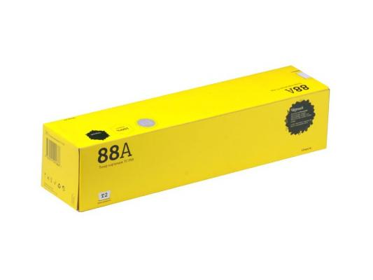 Тонер-картридж T2 TC-P88  Panasonic KX-FL401RU/403RU/413RU/FLC/412RU (2000стр.) картридж t2 tc p83 для panasonic kx fl511ru 512ru 513ru 541ru 543ru flm653ru 663ru 2500стр