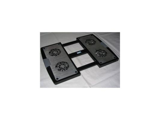 Теплоотводящая подставка для ноутбука 12-17 Titan TTC-G4TZ laptop 12-17, USB серебристый