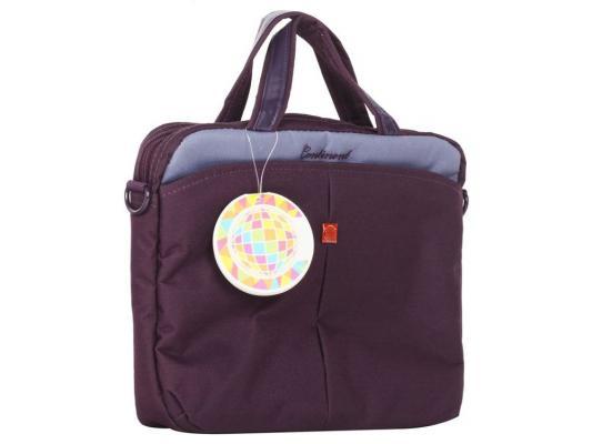 """Сумка для ноутбука 10"""" Continent CC-010 Violet нейлон фиолетовый"""