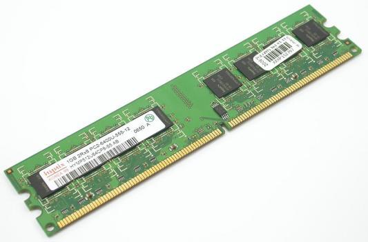 Оперативная память DIMM DDR2 1Gb (pc2-6400) 800MHz Hynix оперативная память kvr400x64c3a 256