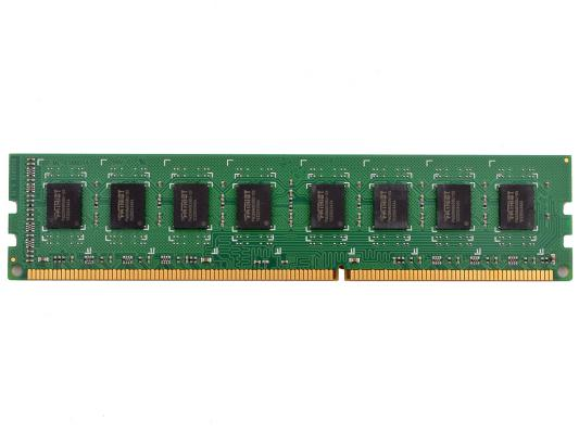 Оперативная память 4Gb (1x4Gb) PC3-12800 1600MHz DDR3 DIMM CL11 Patriot PSD34G160081 оперативная память 8gb pc3 12800 1600mhz ddr3 dimm patriot psd38g16002